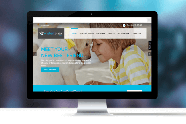 One Bark Plaza – Custom Multi Vendor Ecommerce Website Design & Development